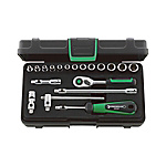 1/4 SQ Socket Wrench Set 40/13/6QRKN