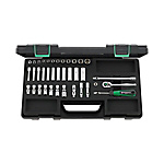 1/4 SQ Socket Wrench Set 40AD/30/7QRSKN