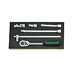 Ratchet Set TCS-1/2-512/6