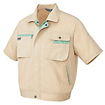 AZ-5321 Short-Sleeve Blouson Jacket