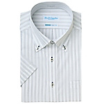 AZ-43064 Short-Sleeve Due Bottoni Button Down Shirt