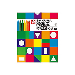 Sakura Color Products Corp. Coupy-Pencil 12 Colors (In Carton)