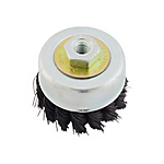 Disc Cup Wire Brush, Strong Twisted Wire
