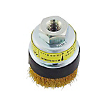 Disc Cup Wire Brush, Brass Wire