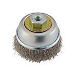Disc Cup Wire Brush, Stainless Steel Wire