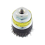 Disc Cup Wire Brush, Steel Wire