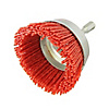 Hexagonal Shaft Nylon Brush, Coarse Grain