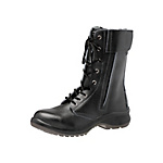 Long Boot Women's Safety Shoes Premium Comfort LPM230F All Eyelet Black
