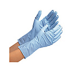 Disposable Gloves Thick Nitrile, 50 Pairs Verte 766H, Powder-Free Blue