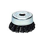 Steel Wire Twisted Cup Brush (SW)