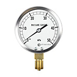 Low Pressure Gauge (ø75, Lower Connection) AN10, GL13