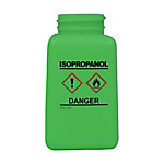 DESCO Bottle, Green, GHS Display, Isopropanol and Print 180 cc