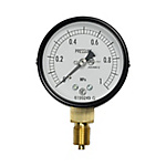 General Industrial Pressure Gauge (ø60, Lower Connection / Type A, Wetted Parts: Corrosion-Proof Use, Performance: Vibration-Proof Type)