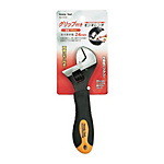 Strong Tool Monkey Wrench With Grip 150 mm, Maximum Opening 24 mm, With Size Markings