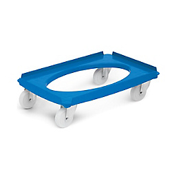 Universal transport roller made of ABS plastic